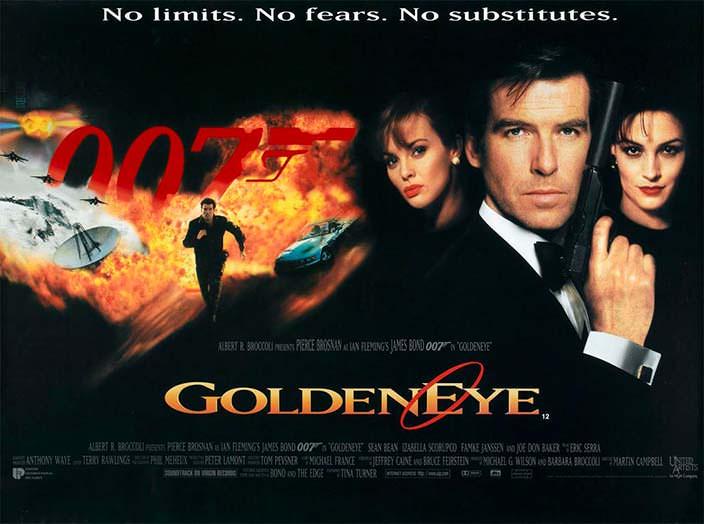Постер «Золотой глаз» (Goldeneye), 1995 год