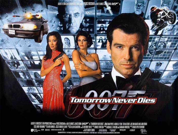 Постер «Завтра не умрёт никогда» (Tomorrow Never Dies), 1997 год