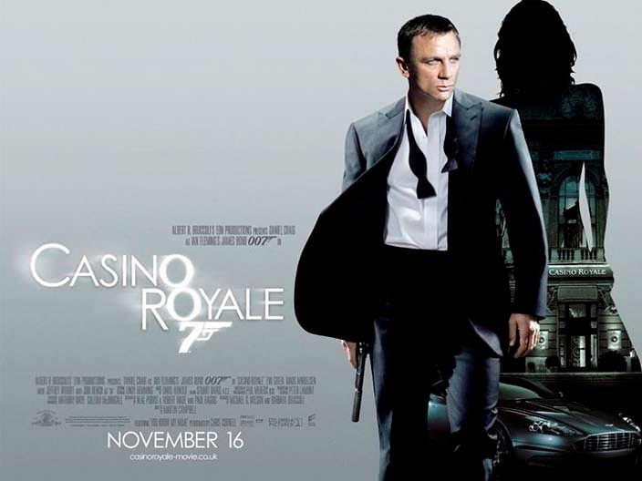 "Постер «Казино ""Рояль""» (Casino Royale), 2006 год"