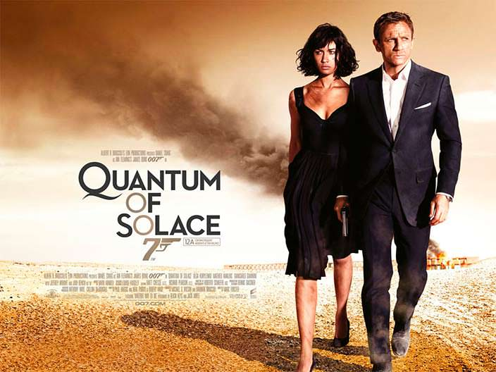 Постер «Квант милосердия» (Quantum of Solace), 2008 год
