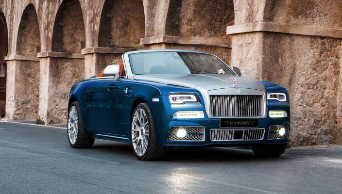 Rolls-Royce Dawn от Mansory