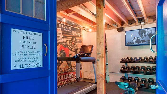 Домашний спортзал Тома Круза