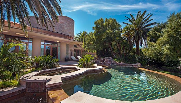 Дом Памелы Андерсон в Лас-Вегасе