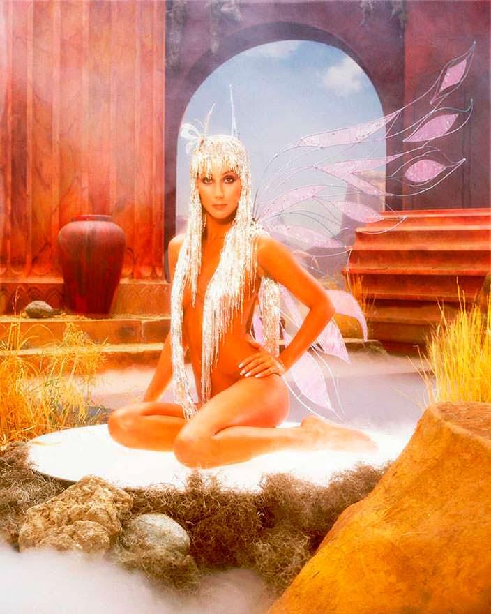 Фото Шер в образе Клеопатры