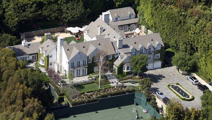 Дом Тома Круза в Беверли-Хиллз