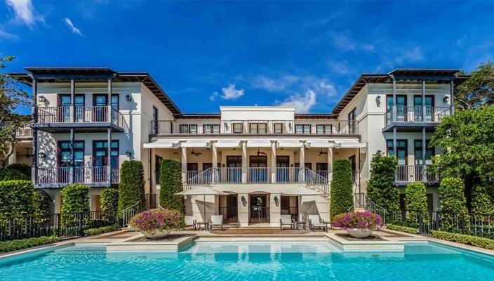 Бывший дом Шер в Майами