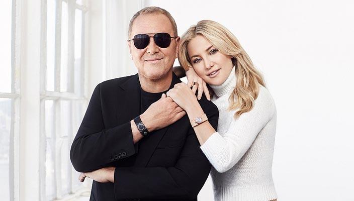 Майкл Корс и Кейт Хадсон для Watch Hunger Stop