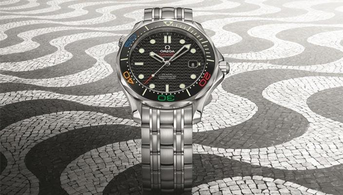 Олимпийские часы Omega Seamaster Diver 300M Rio 2016
