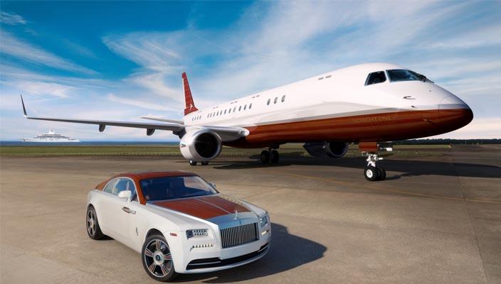 Купе Rolls-Royce Wraith Regatta за миллион долларов