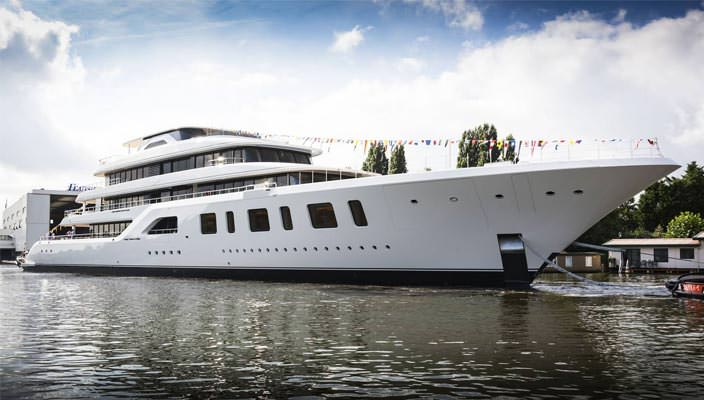 Суперъяхта Feadship Aquarius