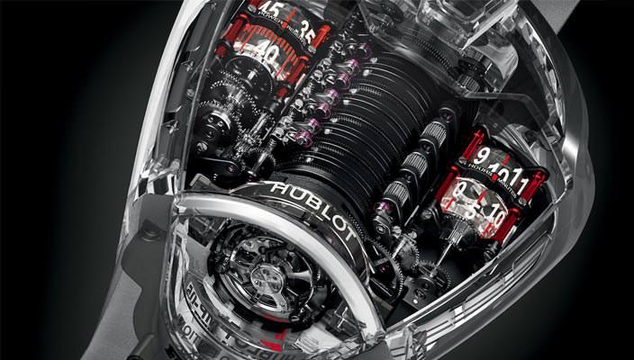 Уникальные часы Hublot MP-05 LaFerrari Sapphire