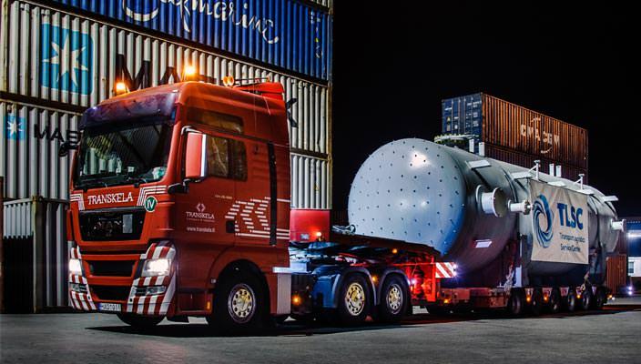 Перевозка негабаритных грузов в Украине