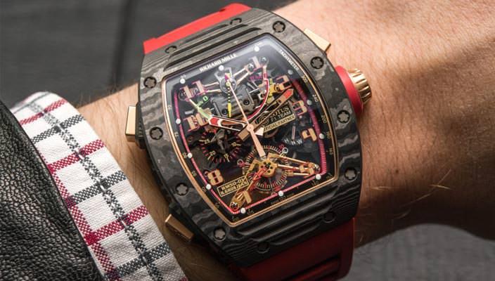 Часы-скелетоны Richard Mille RM 50-01 G-Sensor   фото, цена