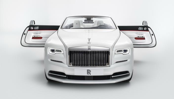 Кабриолет Rolls-Royce Dawn Inspired by Fashion