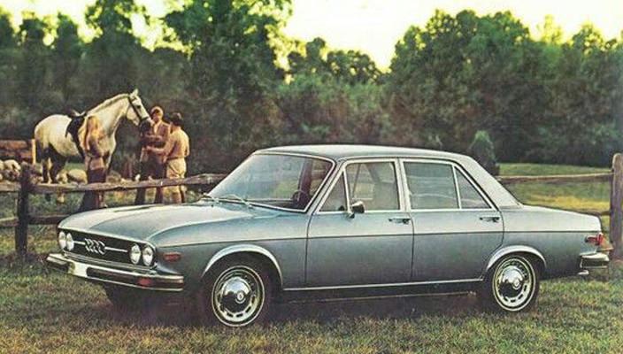 Audi 100 LS 1974 год