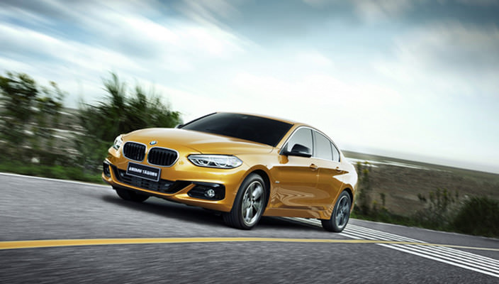 Новая BMW 1-Series Sedan 2017