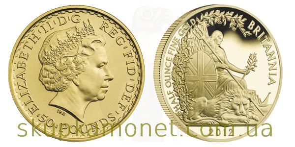 Монета «Британия»