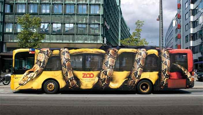 Наружная транзитная реклама, реклама на маршрутках от PRIISK