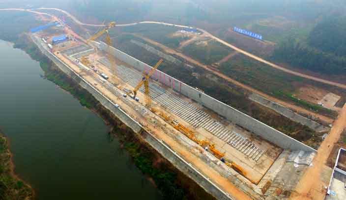 Провинция Сычуань место, где строится копия Титаника в Китае