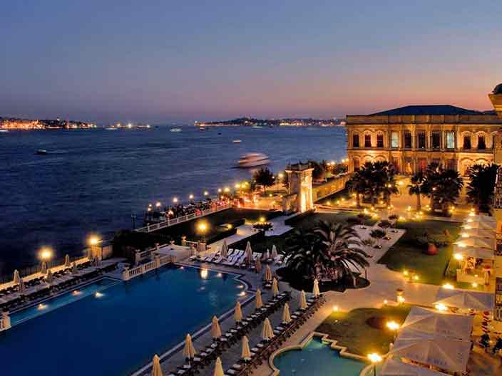 Отель Ciragan Palace Kempinski в Стамбуле, Турция