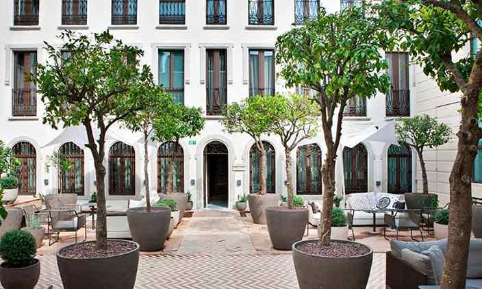 Номер отеля Palacio de Villapanes в Севилье, Испания
