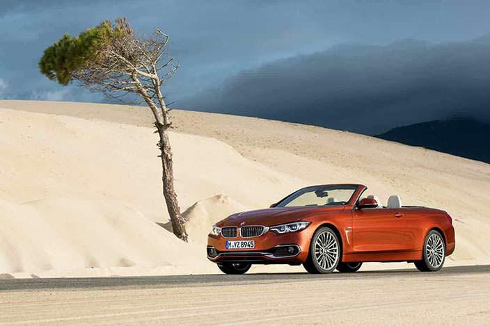 Кабриолет BMW 4-Series