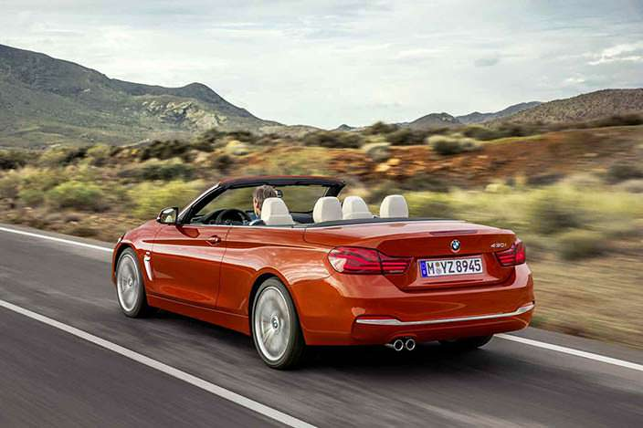 Новая BMW 4-Series Convertible