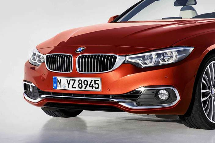 Бампер BMW 4-Series Convertible