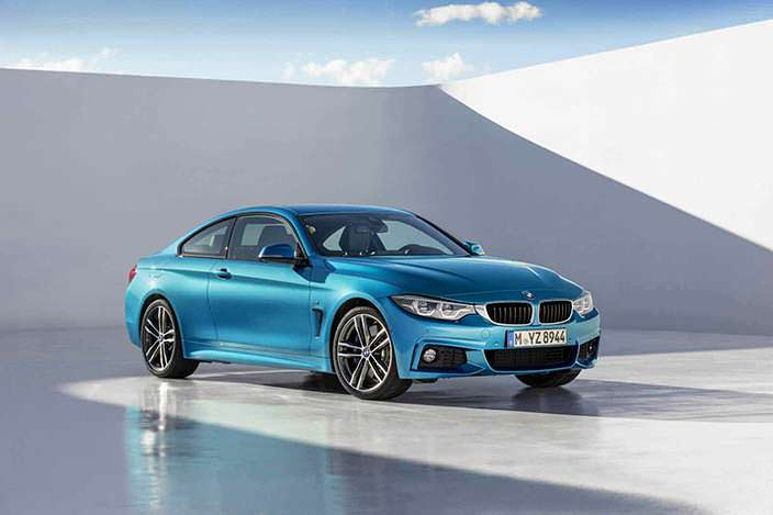 Новая BMW 4-Series Coupe