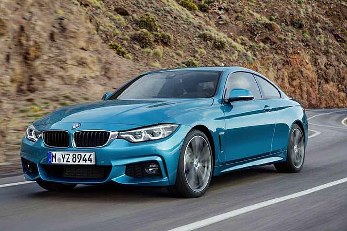 Новая BMW 4-Series Coupe