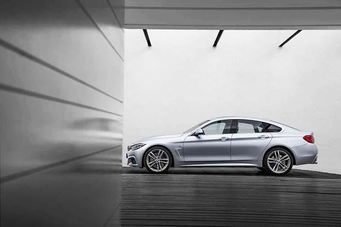 Новый хэтчбек BMW 4-Series