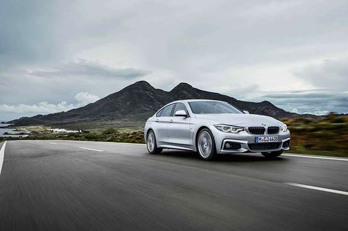 Новый BMW 4-Series Gran Coupe
