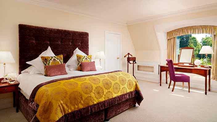 Королевский номер отеля Culloden Estate & Spa в Ирландии
