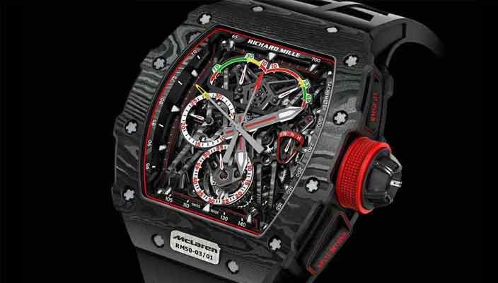 Часы McLaren за $1 млн от Richard Mille | фото, обзор