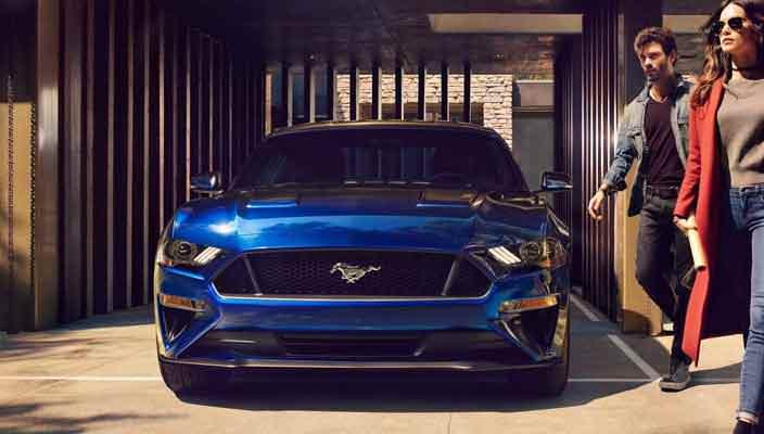 Маслкар Ford Mustang 2018 | фото, видео, характеристики