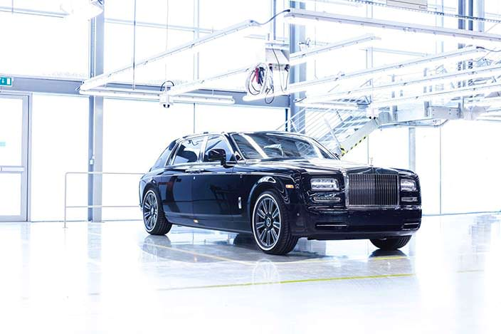 Последний лимузин Rolls-Royce Phantom