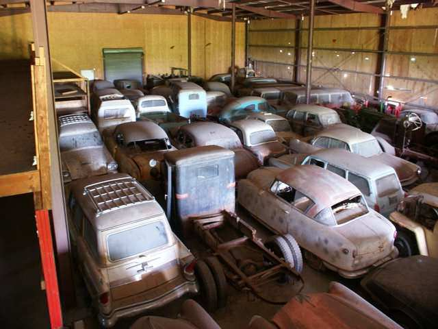Частная коллекция 700 автомобилей