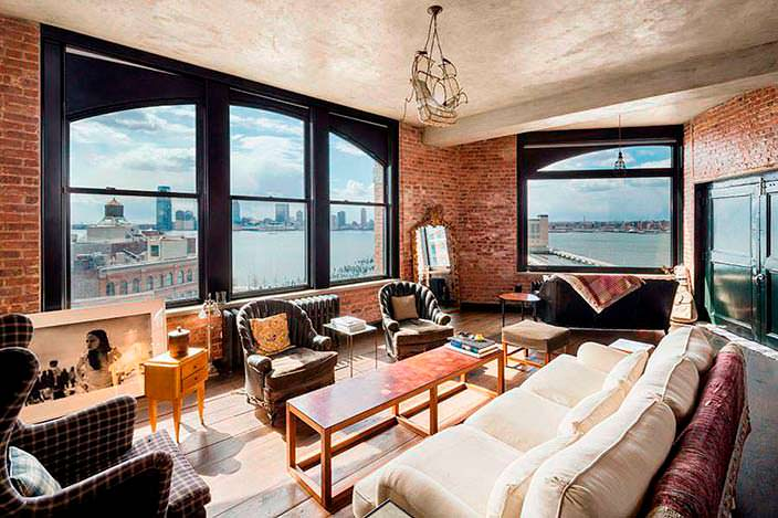 Квартира Кирстен Данст в Нью-Йорке