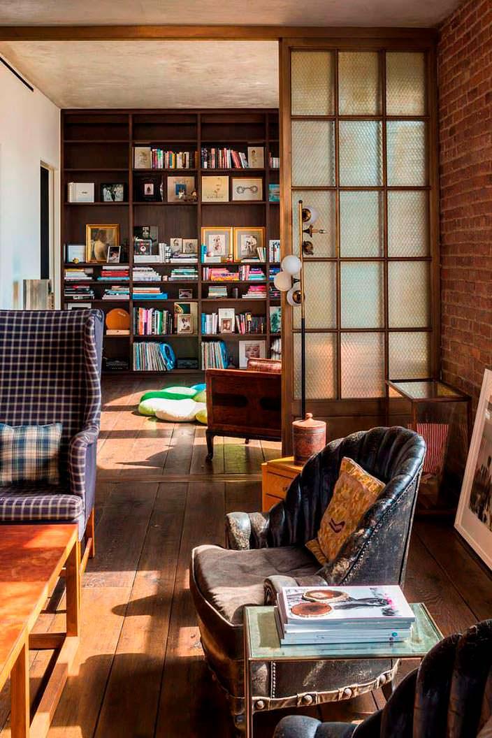 Библиотека в квартире