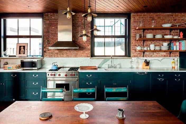 Уютная кухня в квартире