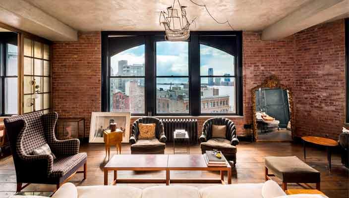 Кирстен Данст продает пентхаус на Манхэттене | фото, цена