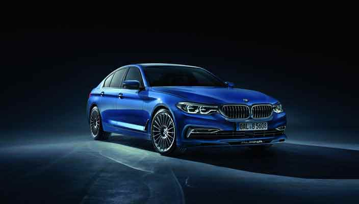 Новая BMW Alpina B5 Bi-Turbo 2017 года | фото, видео, цена