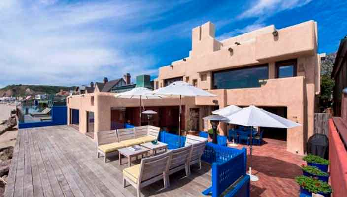Стинг сдает дом на пляже в Малибу в аренду | фото, цена