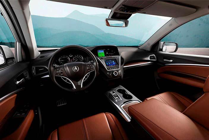 Салон Acura MDX Sport Hybrid