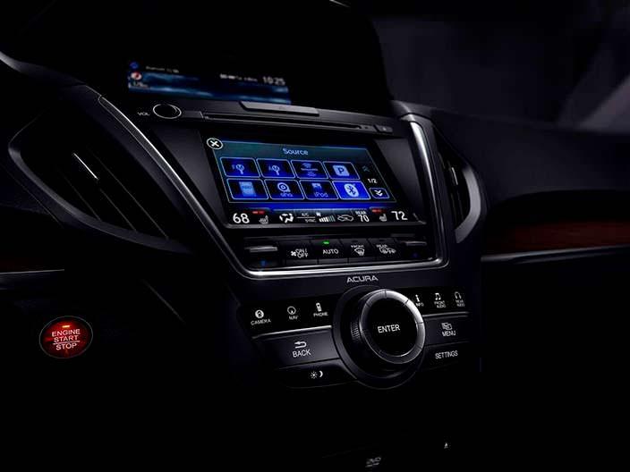 Мультимедийная система Acura MDX Sport Hybrid