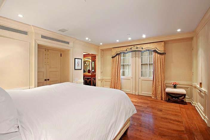 Спальня Дэвида Боуи и Имани