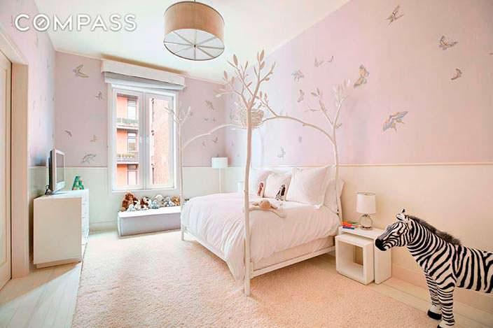 Фото | Спальня в пастельных тонах