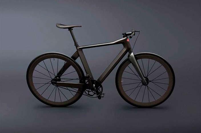 PG Bugatti Bike: велосипед с фиксированной передачей