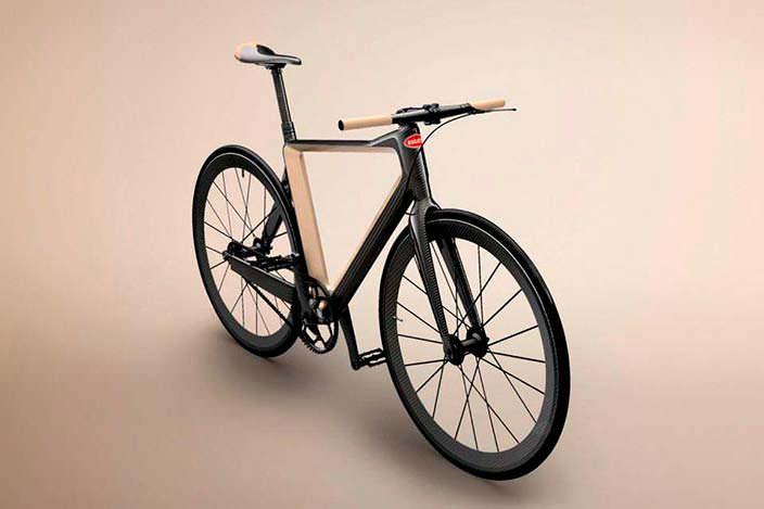 Углеродный велосипед PG Bugatti Bike