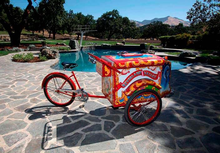 Велосипед с мороженным